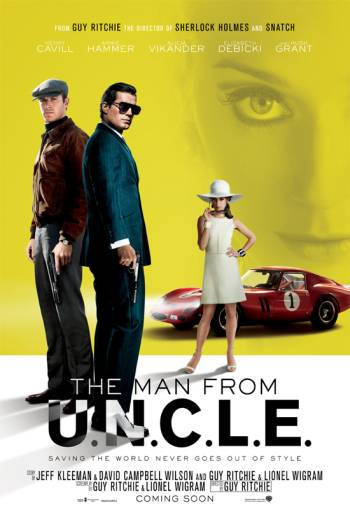 THE MAN FROM U.N.C.L.E. <span>(2015)</span> artwork