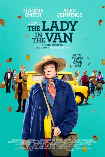 THE LADY IN THE VAN artwork