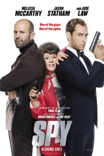 SPY <span>[Additional Material,Audio commentary,Theatrical version]</span> artwork