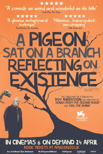 A PIGEON SAT ON A BRANCH REFLECTING ON EXISTENCE <span>(2014)</span> artwork