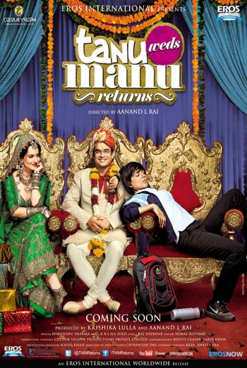 TANU WEDS MANU RETURNS artwork