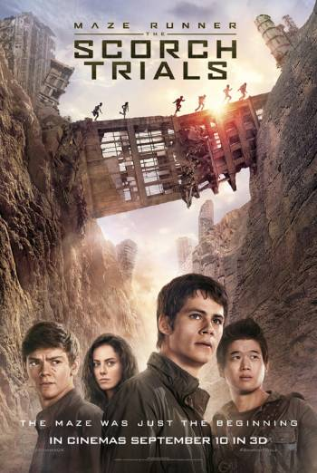 MAZE RUNNER: THE SCORCH TRIALS <span>[Additional Material,International Theatrical Trailer #1,Paper Towns]</span> artwork