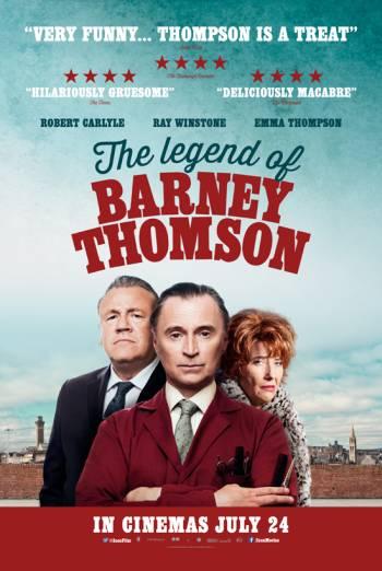 THE LEGEND OF BARNEY THOMSON artwork