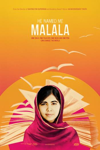 HE NAMED ME MALALA artwork