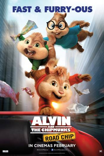 ALVIN AND THE CHIPMUNKS: THE ROAD CHIP <span>[Additional material,Audio description]</span> artwork
