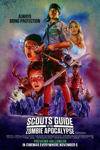 SCOUTS GUIDE TO THE ZOMBIE APOCALYPSE artwork