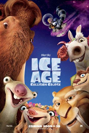 ICE AGE: COLLISION COURSE <span>[Odeon Ident]</span> artwork