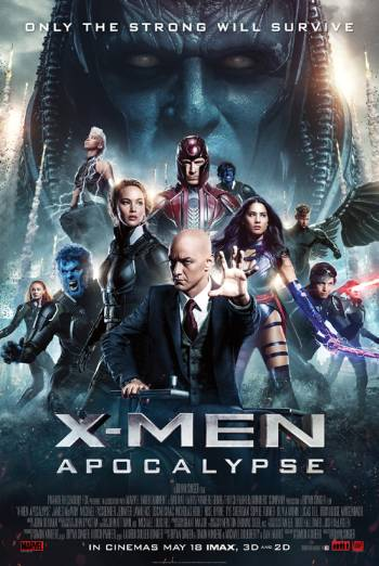 X-MEN: APOCALYPSE <span>[Additional material,Audio commentary by Bryan Singer and Simon Kinberg]</span> artwork