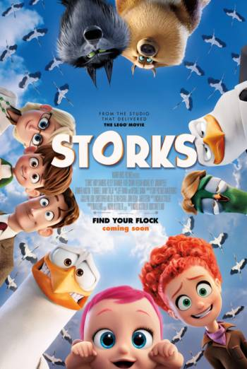 STORKS AND SHORT FILM THE MASTER <span>[3D]</span> artwork