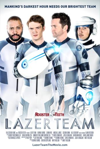 LAZER TEAM artwork