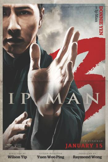 IP MAN 3 <span>[3D]</span> artwork