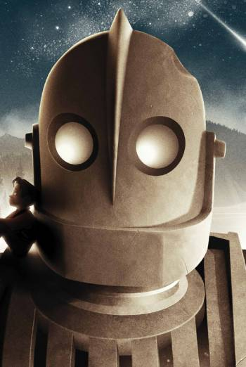 THE IRON GIANT artwork