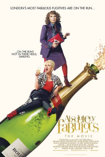 ABSOLUTELY FABULOUS: THE MOVIE artwork