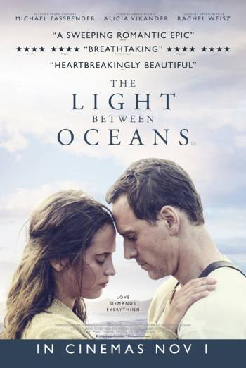 THE LIGHT BETWEEN OCEANS artwork