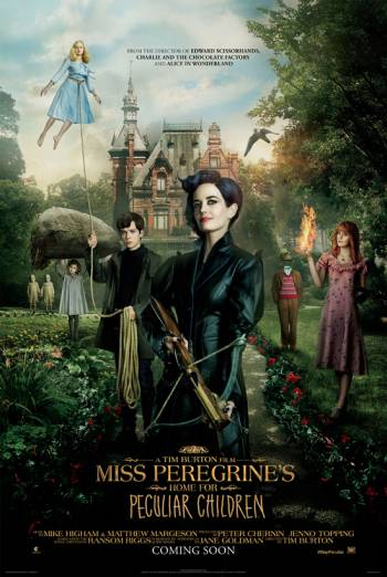 MISS PEREGRINE'S HOME FOR PECULIAR CHILDREN <span>(2016)</span> artwork