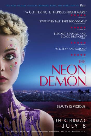 THE NEON DEMON artwork