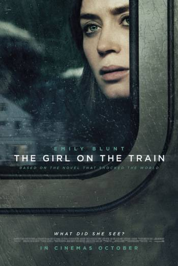 THE GIRL ON THE TRAIN artwork