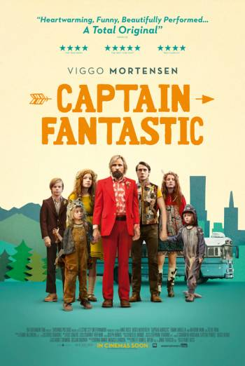 CAPTAIN FANTASTIC <span>(2016)</span> artwork