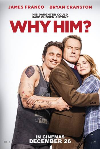 WHY HIM? artwork