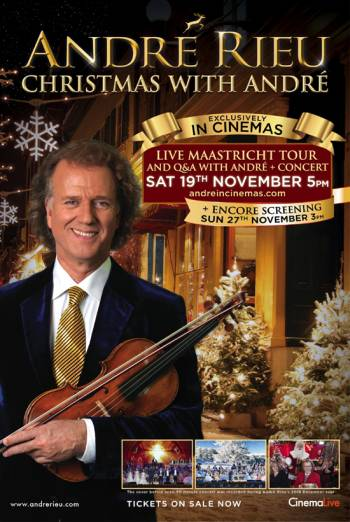 Book tickets for Andre Rieu: Christmas With Andre | Vue Cinemas
