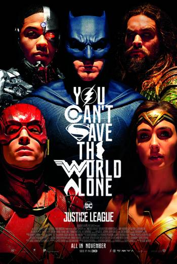JUSTICE LEAGUE artwork
