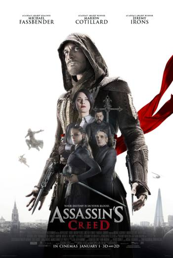 Assassin's Creed 3D Poster