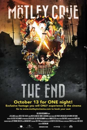 MOTLEY CRUE - THE END <span>(2016)</span> artwork