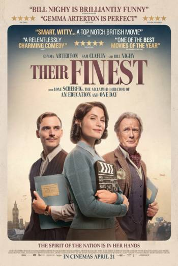 THEIR FINEST <span>[Additional material,Audio commentary with Director Lone Scherfig]</span> artwork