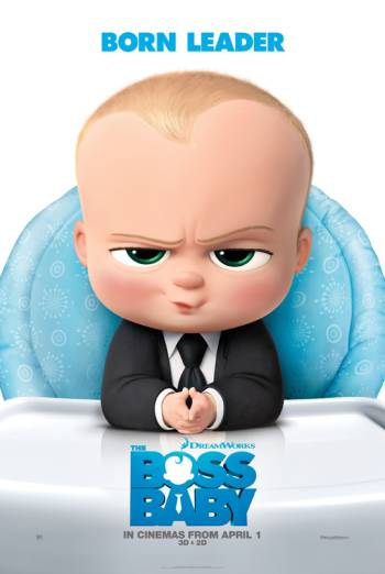 THE BOSS BABY artwork