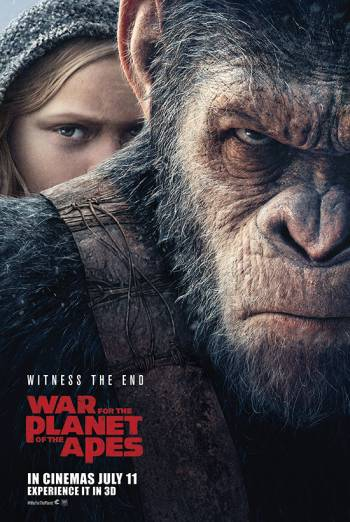 WAR FOR THE PLANET OF THE APES <span>[Trailer 25 Odeon Version,3D]</span> artwork