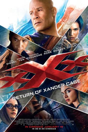 xXx 3: The Return Of Xander Cage 3D Poster
