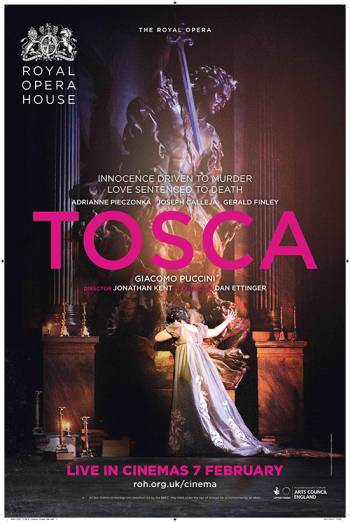 Royal Opera House: Tosca Poster