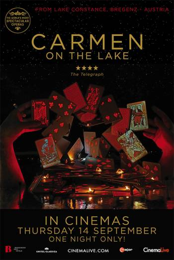 Carmen on the Lake (Bregenz, Austria) Poster