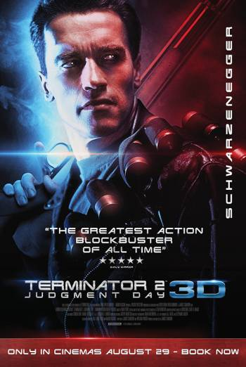 Terminator 2 Judgement Day 3D Poster