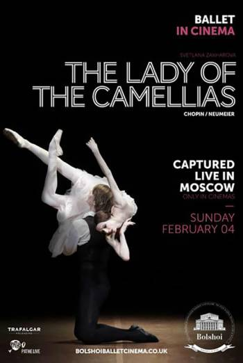 Bolshoi: The Lady of the Camellias Poster