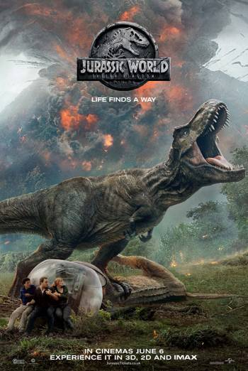 JURASSIC WORLD: FALLEN KINGDOM <span>[3D]</span> artwork