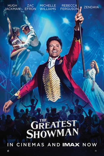 THE GREATEST SHOWMAN artwork