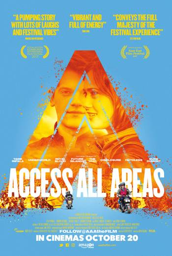 ACCESS ALL AREAS artwork