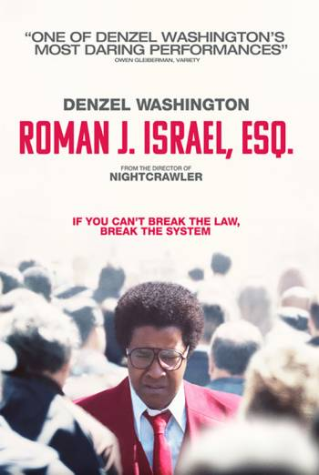 ROMAN J. ISRAEL, ESQ. <span>(2017)</span> artwork