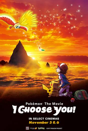 Pokemon the Movie: I Choose You! Poster
