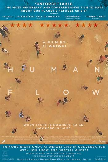 Human Flow Premiere Live + Q&A with Ai Weiwei