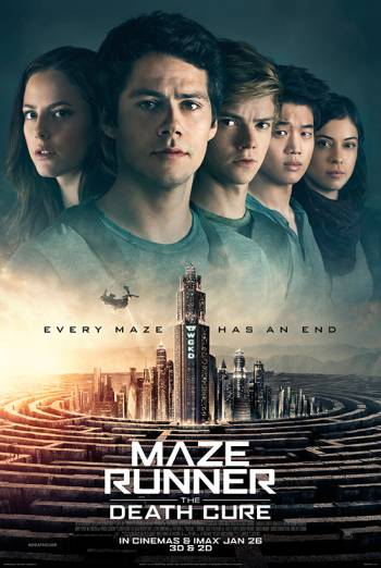 Maze Runner: The Death Cure 2018 movie
