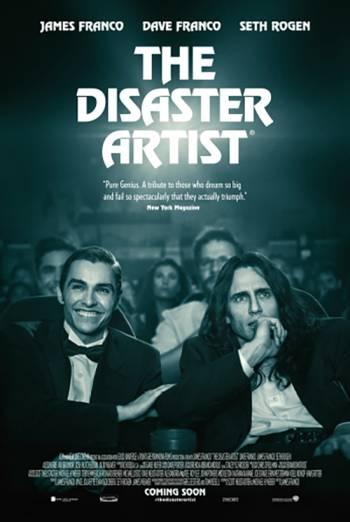 THE DISASTER ARTIST artwork