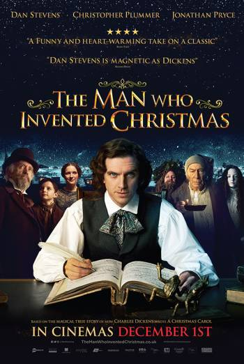 THE MAN WHO INVENTED CHRISTMAS <span>(2017)</span> artwork