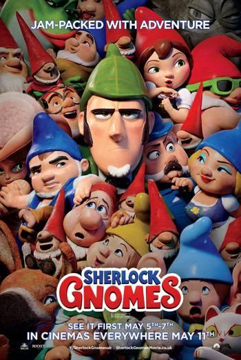 SHERLOCK GNOMES (2017)