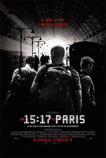 THE 15:17 TO PARIS artwork