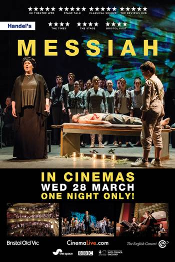 Messiah from Bristol Old Vic Poster