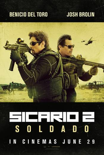 SICARIO 2: SOLDADO artwork