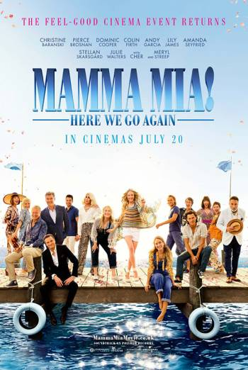 MAMMA MIA: HERE WE GO AGAIN <span>[Odeon trailer]</span> artwork