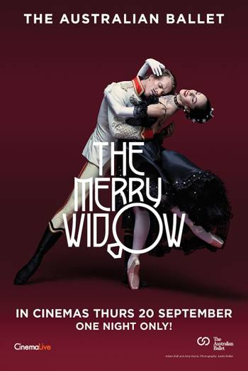 The Merry Widow - Australian Ballet Poster